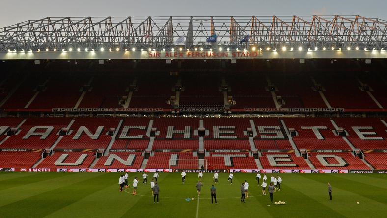 Először edzhetett története során a Liverpool az Old Traffordon / Fotó: AFP