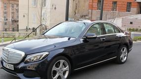 Pierwsza jazda nowym Mercedesem klasy C