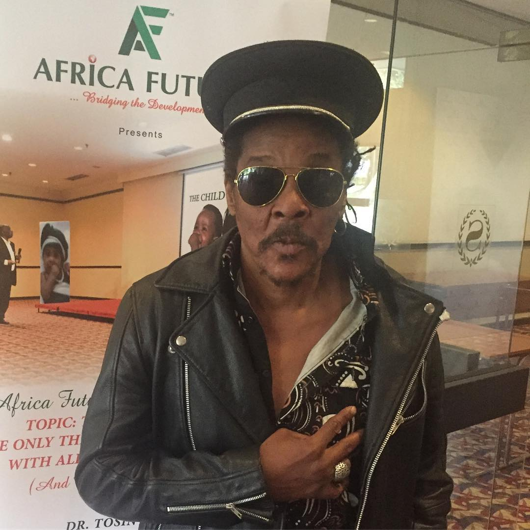 There are reports that reggae legend, Majek Fashek is critically ill and has been hospitalised.[Instagram/OfficialMajekFashek]