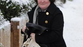 Susan Boyle w obiektwie paparazzi