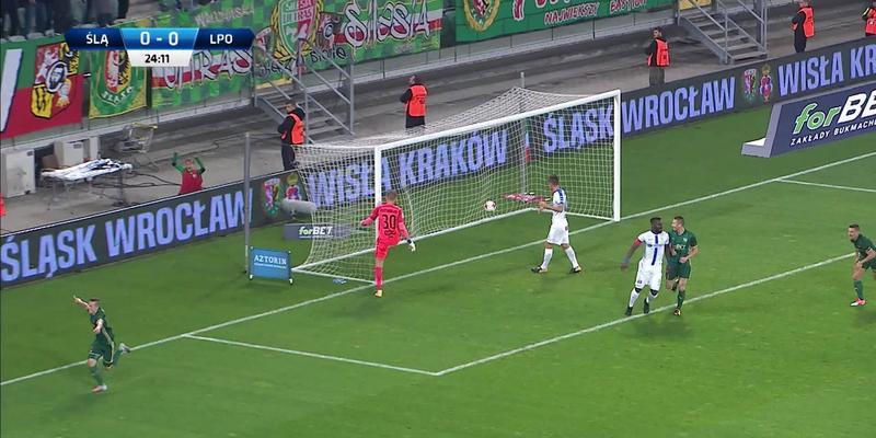 Śląsk - Lech (1:0): Kapitalna akcja Śląska, trochę szczęścia pod koniec i bramka! Pich zaskoczył Putnockiego precyzyjnym strzałem