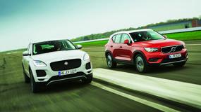Małe SUV-y, duża frajda? Porównanie: Jaguar E-Pace i Volvo XC40