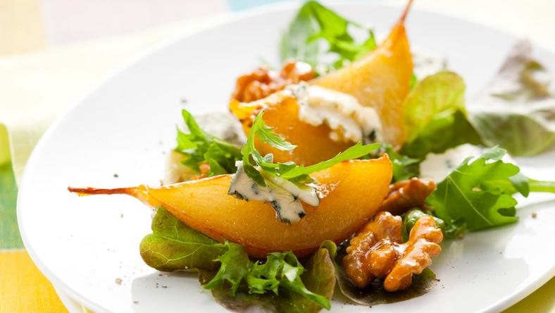 Sült körtés saláta recept / Fotó: Northfoto