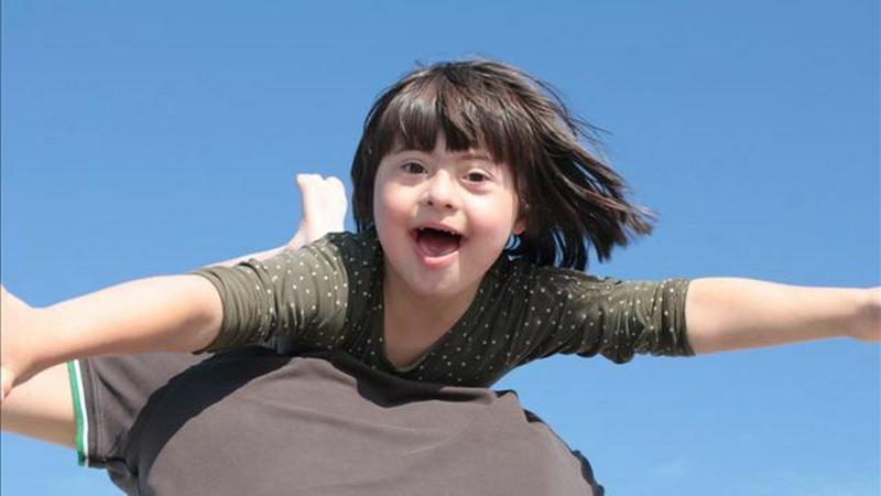 Blanka, normalne dziecko z Downem