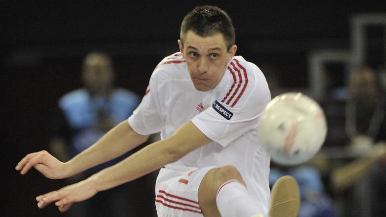 Dróth Zoltán a csapat vezére, az ő jó teljesítménye is kell ahhoz, hogy bravúrt érjen el a válogatott /Fotó: MTI