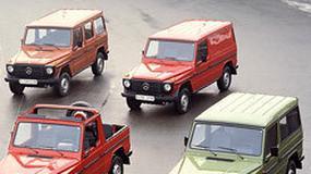 Mercedes-Benz G-Klasa: Geländewagen jest na rynku od 30 lat