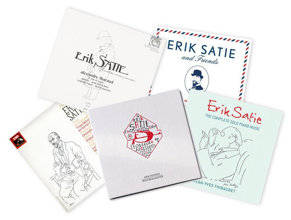 Płyty Erika Satie