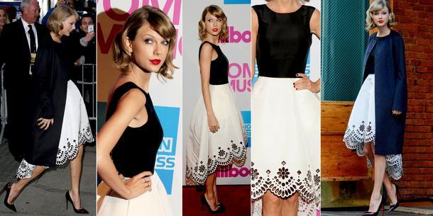 BEST LOOK: Taylor Swift w Oscar de la Renta