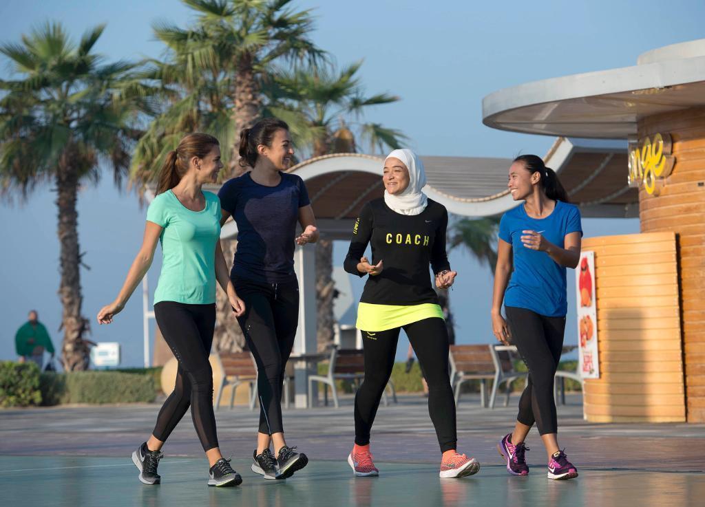 Nike wspiera kobieta kobiety z Bliskiego Wschodu