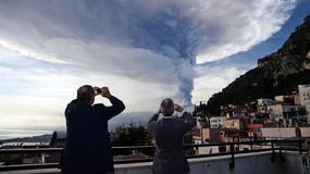 Przebudzenie wulkanu Etna na Sycylii