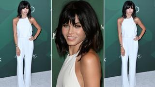 Best Look: Jenna Dewan Tatum w kombinezonie Halston