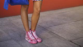 Kolorowe buty sportowe