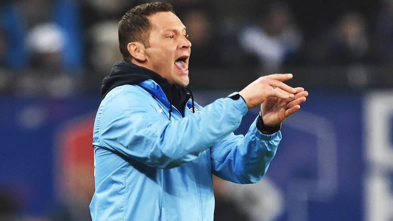 Dárdai Pál szerint három pont kell a Wolfsburg ellen, ha az élmezőnyben akarnak maradni /Fotó: Europress-Getty Images
