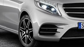 Mercedes Klasy V z pakietem AMG - pierwsze zdjęcia auta!