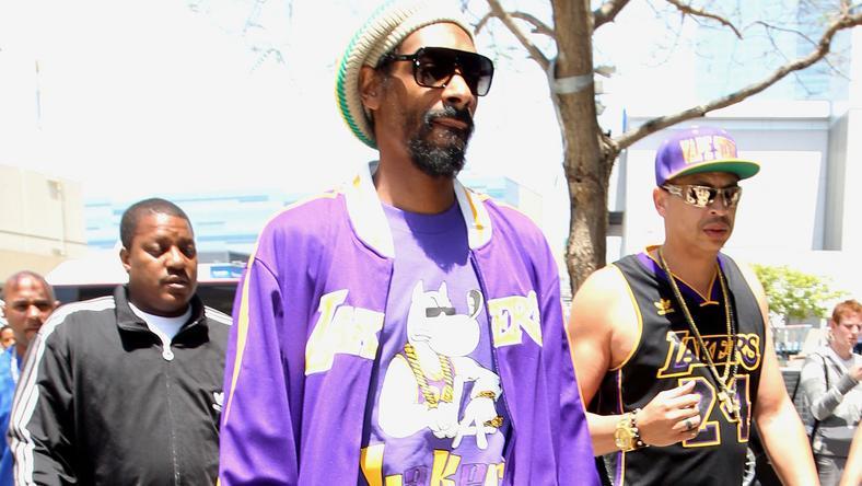 Snoop Dogg értékeire testőr hada sem tudott vigyázni / Foto:Northfoto