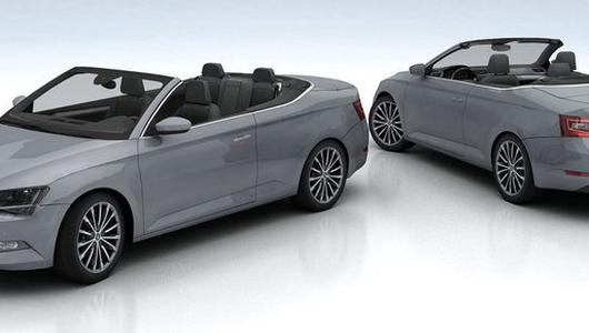 "Skoda Superb CC jak Mercedes ""S"" cabrio"