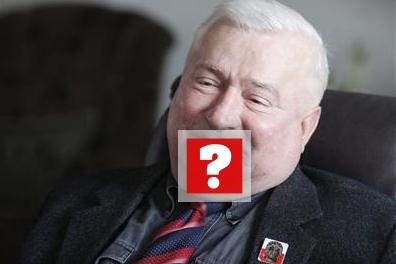 Szok! Wałęsa zgolił wąsy!