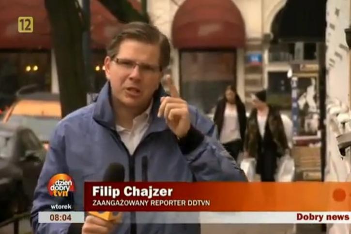 Jak się robi materiały w TVN wg Filipa Chajzera