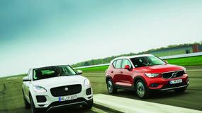 Małe SUV-y, duża frajda? Porównanie: Jaguar E-Pace i Volvo XC 40