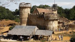 Chateau de Guédelon - średniowieczny zamek, który powstaje w XXI wieku