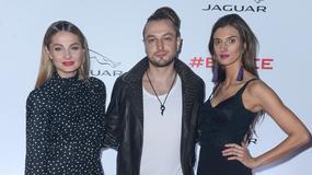 Gwiazdy podziwiały nowy model Jaguara, a Małgorzata Socha chwaliła się nogami