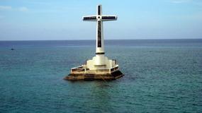 Zatopiony cmentarz koło wyspy Camiguin na Filipinach