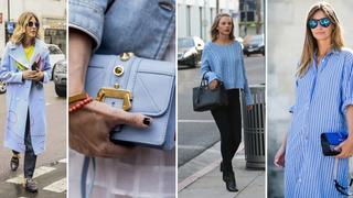 Moda w kolorze Serenity Blue