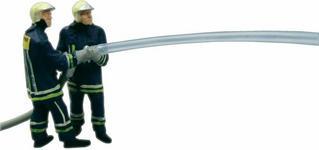 Viessmann Strażacy gaszący pożar ruchome figurki skala H0