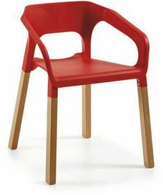 LaForma Krzesło Wave Czerwone