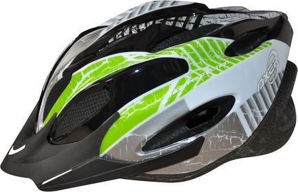 AXER KASK ROWEROWY VOYAGER GREEN BIKE A0170