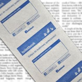Papier toaletowy FaceBook