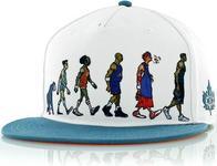 K1X Darwin Basketball Cap White/Aqua (1494)