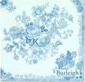 Serwetki do decoupage 33x33cm - Burleigh Blue