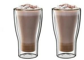 Luigi Bormioli komplet szklanek do latte Duos 340 ml