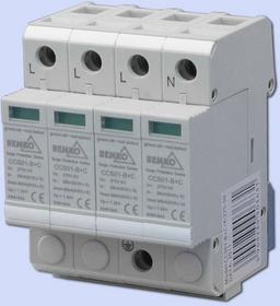 Bemko OCHRONNIK Ogranicznik przepięć PRZEPIĘCIÓWKA 4-POL KLASA B+C A50-CCS01-4P-