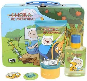 Disney Adventure Time - dziecięca EDT 50 ml + piana do kąpieli 150 ml + 2x odzna