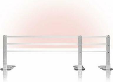 Reer Barierka ochronna do łóżka 110-140cm szara, REER RE4504.8