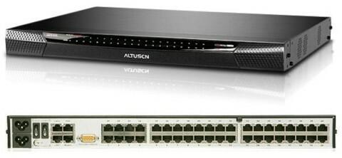 Aten   ALTUSEN ALTUSEN KVM 40 port over the Net IP+Virtual Media KN-2140V