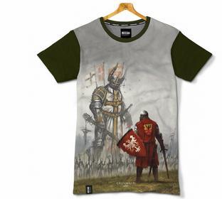 Red Is Bad T-shirt GrunwaLd 1410 - oliwkowa