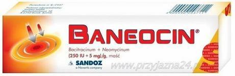 SANDOZ GMBH Baneocin maść 20g
