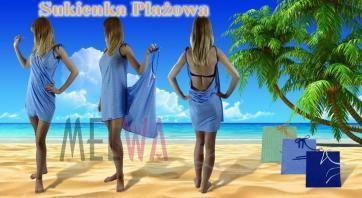 Matex Sukienka plażowa bawełniana Sukienka na plażę (sp)