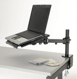 EXPONENT WORLD Ramie na laptopa (biurko) - czarne 50833