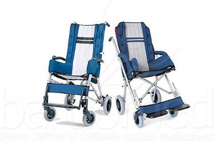 Mobilex Wózek inwalidzki dziecięcy spacerowy Ormesa Clip roz. 1, 2, 3