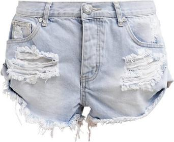 One Teaspoon BANDITS Szorty jeansowe wilde 16566E