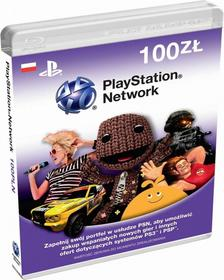 PlayStation Live Cards 100 PLN