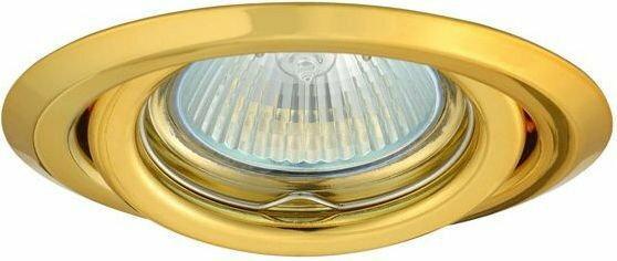 Superled Oprawa Oprawa LED halogenowa ruchoma okrągła kolor złoty OH15 0909