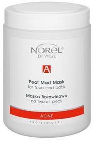 Norel Acne Maska borowinowa na twarz i plecy 500ml