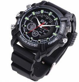 Xblitz Kamera szpiegowska w zegarku 8GB IR FullHD ECO SHINE TEXTIL WASH 1L Prepa