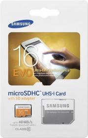 Samsung MicroSDHC Evo Class 10 16GB