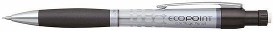 Penac Ołówek automatyczny Ecopoint 0,5mm, srebrno-czarny PSC2701BC1MB-05